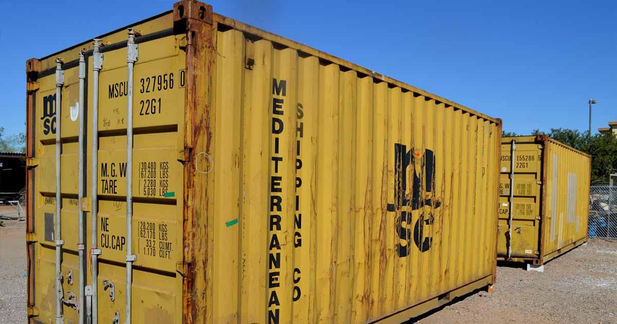 ikinci el konteyner fiyatları